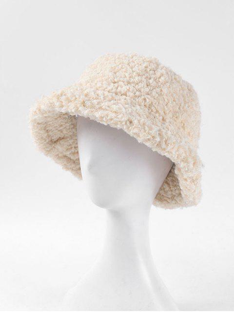 Зимняя Одноцветная Шляпа С пряжкой - Бежевый  Mobile