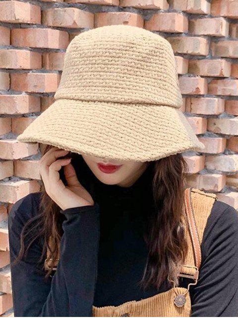 Одноцветная Шляпа-ведро Хлопок - Верблюд-коричневый  Mobile