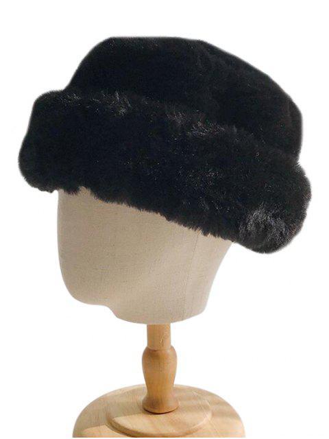 Зимняя Шляпа Искусственный мех - Чёрный  Mobile