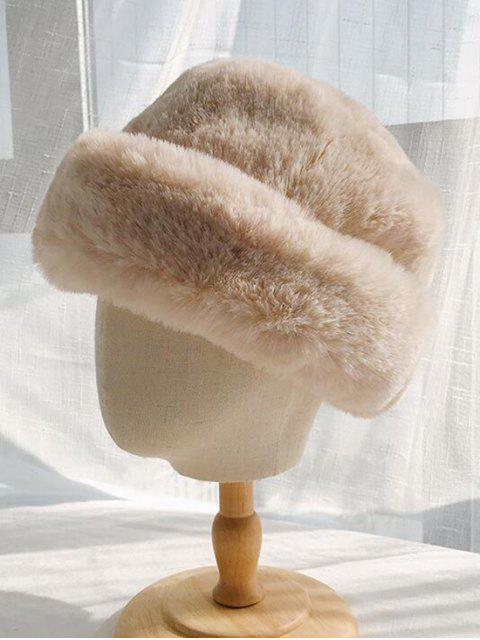 Зимняя Шляпа Искусственный мех - Бежевый  Mobile