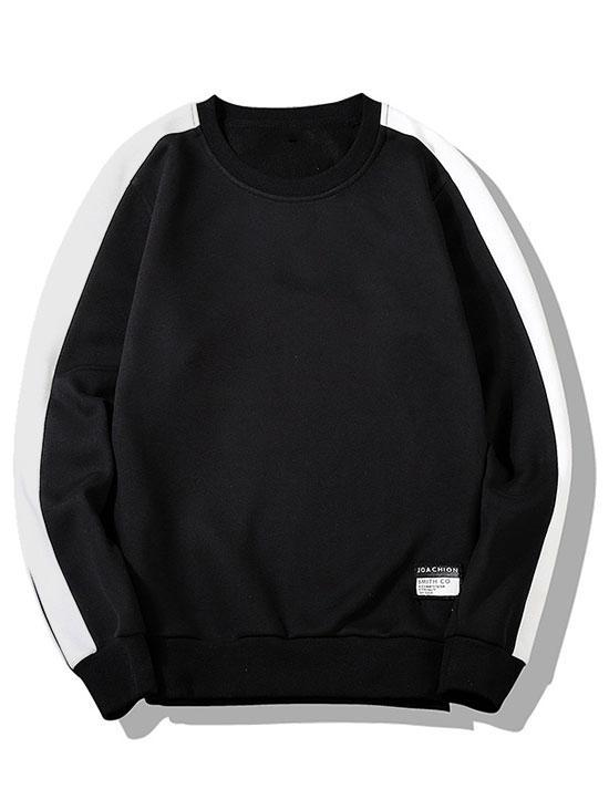 Two Tone Fleece Lounge Sweatshirt фото