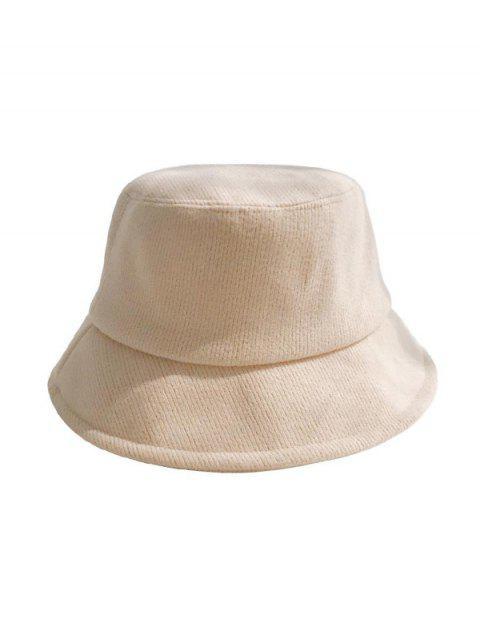 Одноцветная Зимняя Шляпа Хлопок - Бежевый  Mobile