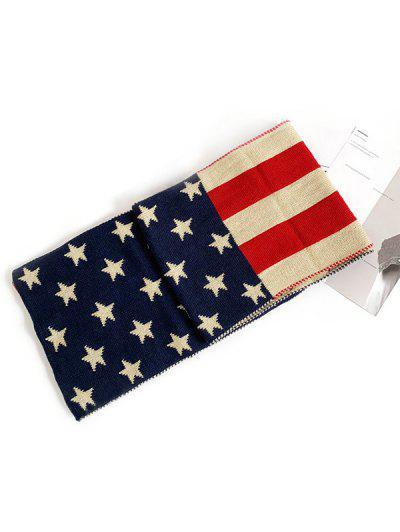 American Flag Long Scarf