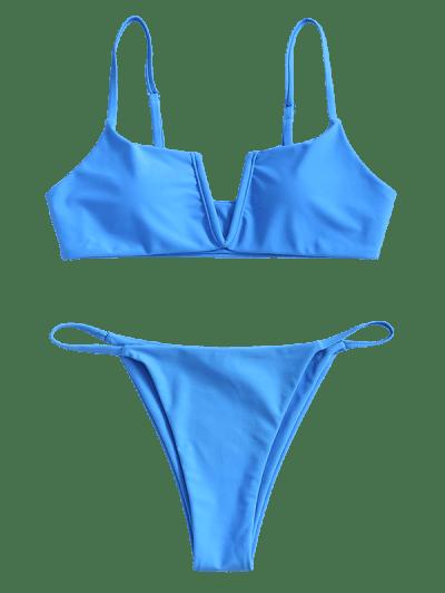ZAFUL Wired V-notch Bikini Swimsuit