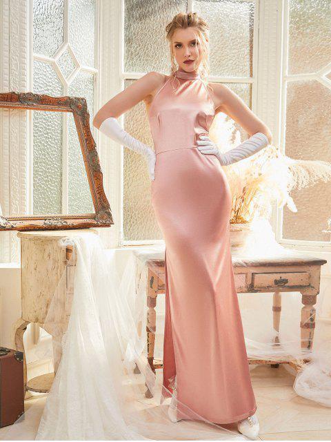 ZAFUL Vestido de Baile de Cintura Alta Qualidade para Homens - Rosa M Mobile