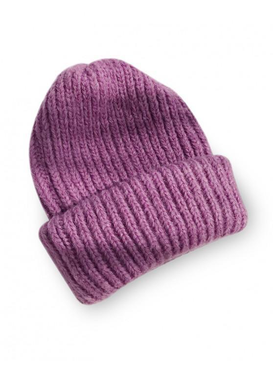 الصلبة الجديل القبعة - أرجواني