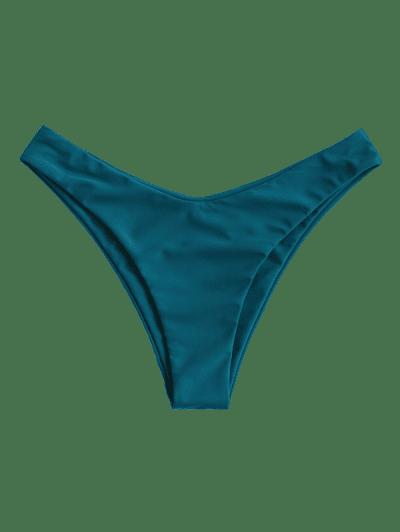 ZAFUL High Leg Plain Bikini Bottom