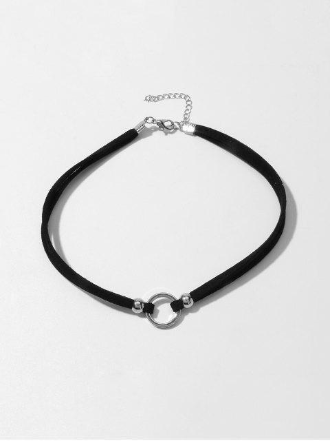 Круг Многослойное Ожерелье Чокер - Серебристый  Mobile