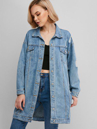 Image of Oversized Denim Jacket
