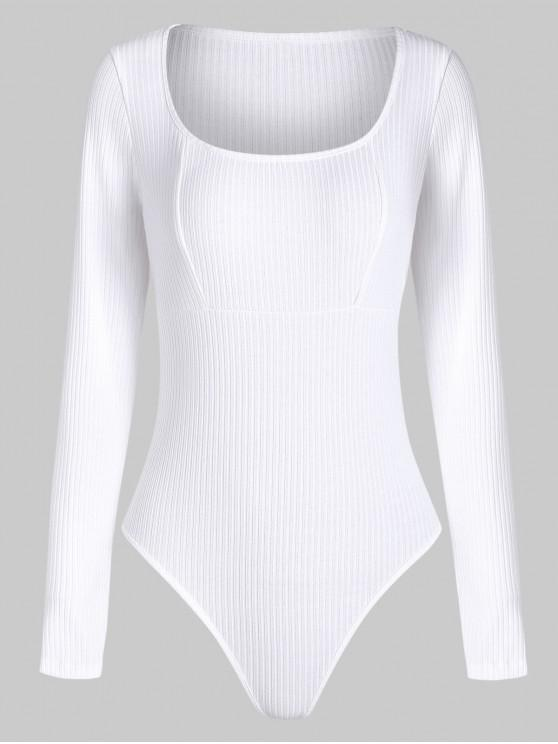 Solid Button costine Snap Body - Bianca M