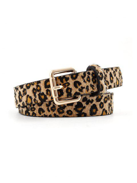 С леопардовым узором Квадратная пряжка - Леопард  Mobile