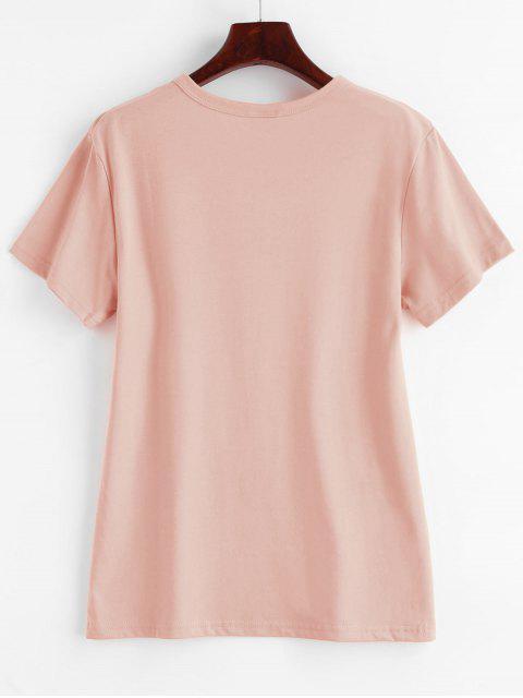 women Cactus Graphic T-shirt - ROSE S Mobile