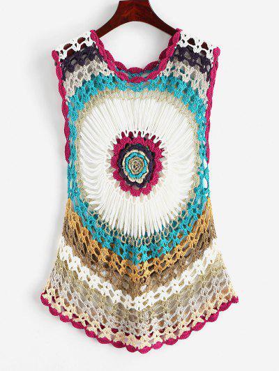 Crochet Beach Cover up Top