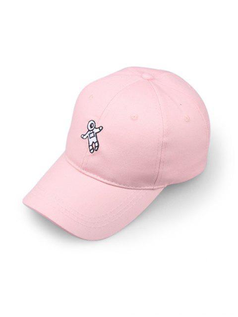 Бейсбольная Шляпа С вышивкой астронавта - Розовый  Mobile