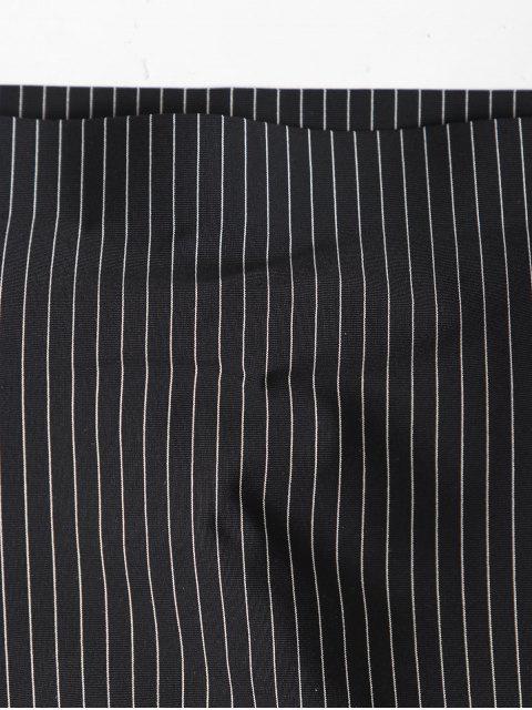 online Padded Stripes Lingerie Bandeau Top - BLACK ONE SIZE Mobile