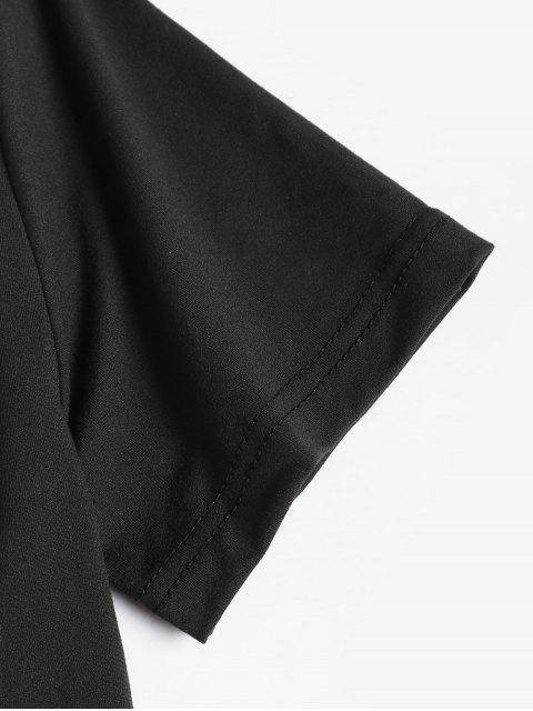 T-shirtdeBaseGesteGraphique - Noir 2XL Mobile