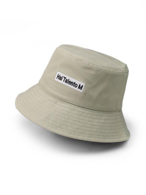 Хлопковая Шляпа как ведро - Светло-зеленый  Mobile