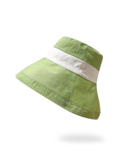 Colorblock Reversible Sunproof Bucket Hat
