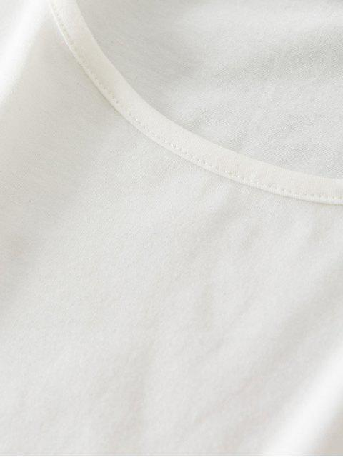 ZAFUL Fensterscheibe Kariertes Crop Shorts mit Gürtel Set - Schwarz S Mobile