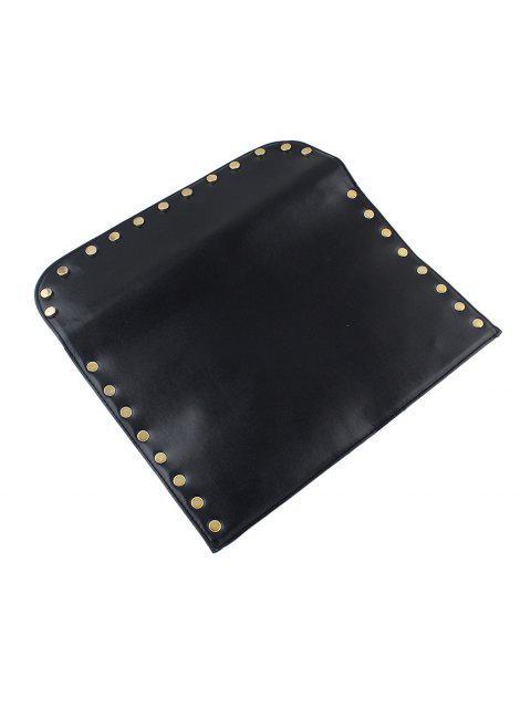 Bolsa Cadena Cruzada Punk Esqueleto - Negro  Mobile