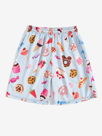 Dessert Allover Print Shorts