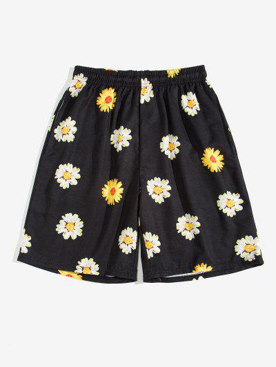 Daisy Print Board Shorts