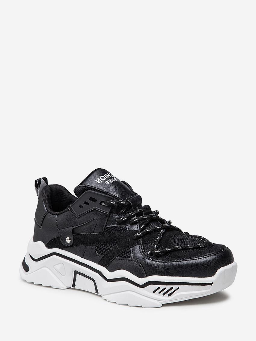 Colorblock Outdoor Platform Dad Sneakers