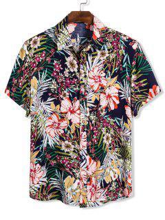 Chemise Hawaïen Fleurie à Manches Courtes - Multi M