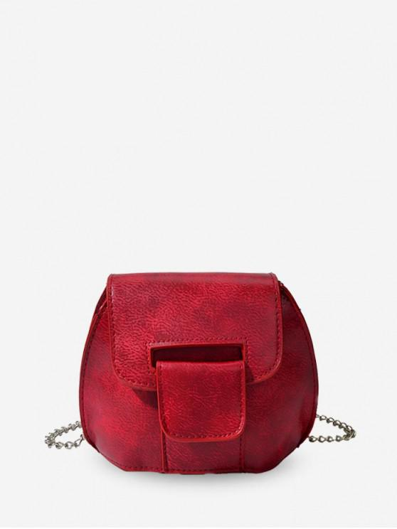 sale Mini Chain Cross Body Bag - LAVA RED
