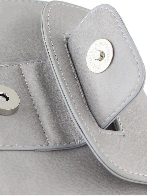 Mini Bandolera de Cadenas con Estamapdo Escotado de Cuerpo - Nube Gris  Mobile