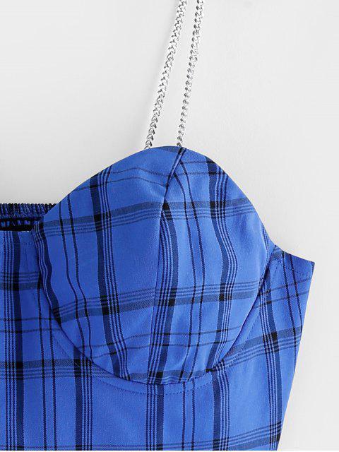ZAFUL Fina Alças Acolchoadas Top de suprimentos ao ar livre XINTOWN - Oceano Azul M Mobile