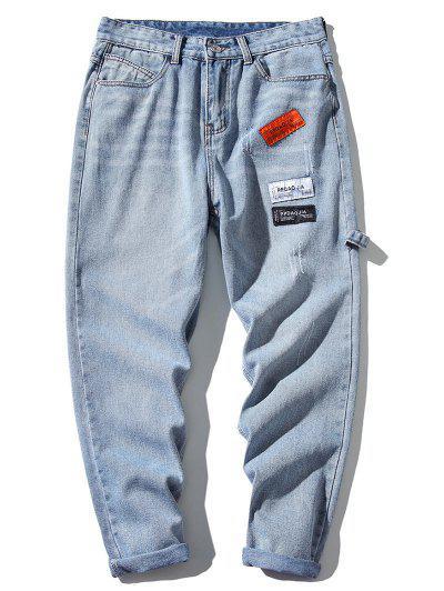 Applique Scratch Jeans