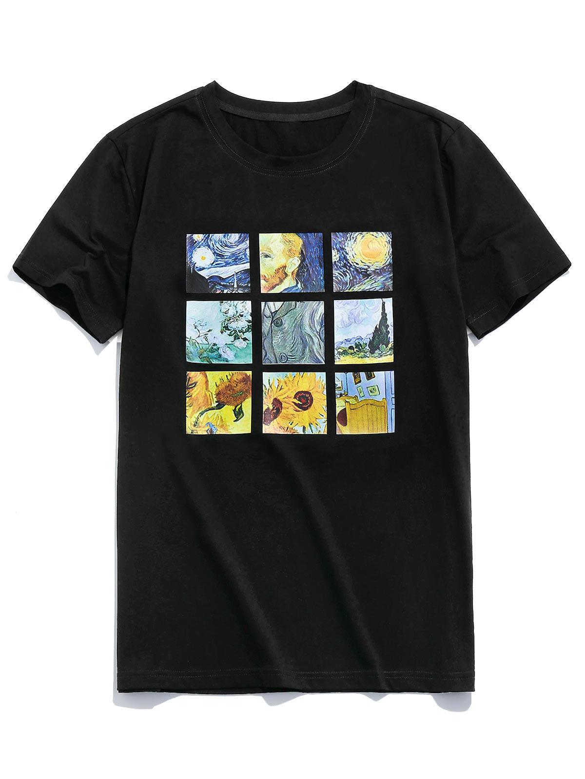 ZAFUL Graphic Painting Print T-shirt thumbnail