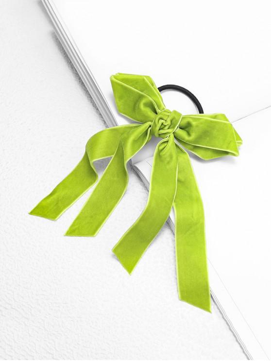 Эластичная Головная Повязка С бантом - Желтовато-зеленый