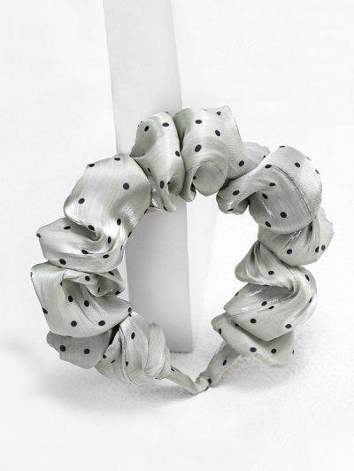 Dots Print Fabric Hairband