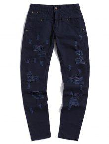 Ripped Design Casual Pants
