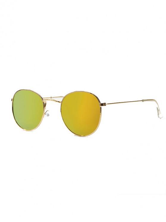 Gafas de Sol Montura Metálica Diseño Retro - Tigre Anaranjado
