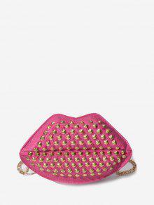 Chain Strap Mouth Shape Shoulder Bag