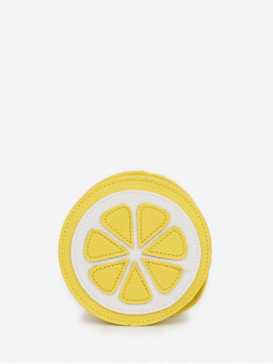 Bolsa Cantimplora Patrón Limón - Amarillo