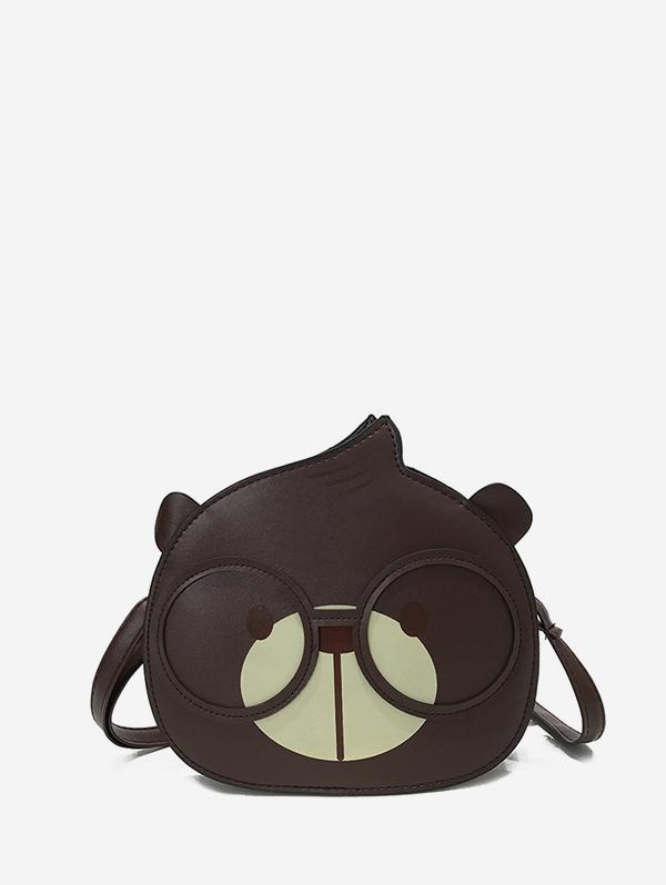 Cartoon Bear Shape Crossbody Bag
