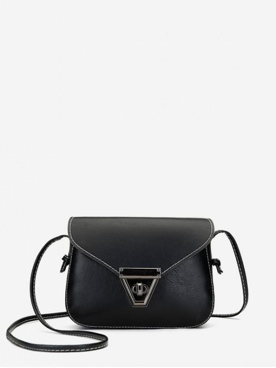 online Cover Retro Mini Crossbody Bag - BLACK