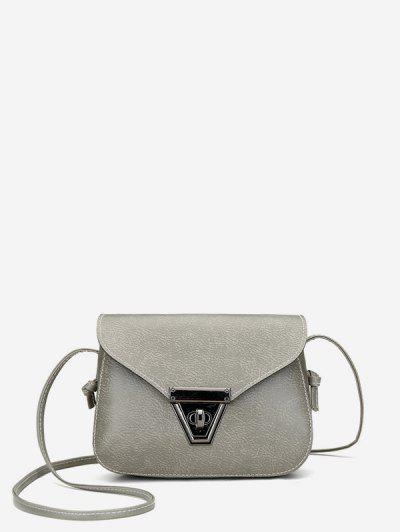 Cover Retro Mini Crossbody Bag - Gray Cloud