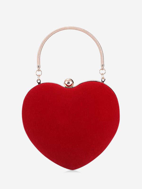 Heart Shape Evening Hand Bag thumbnail