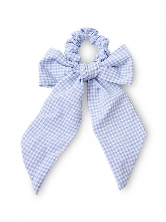 Corbata Pelo Adorno Moño - Azul Claro