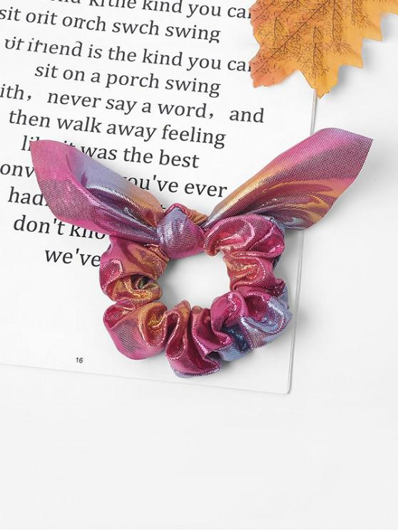 hot Bowknot Sparkling Fabric Scrunchy - MULTI-G