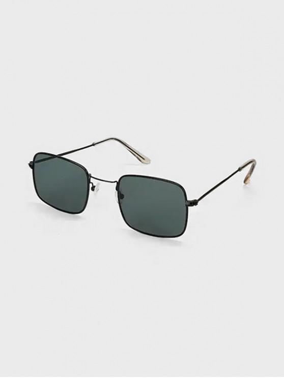 Gafas de Sol Polarizadas con Espejo de Cuadrado - Negro