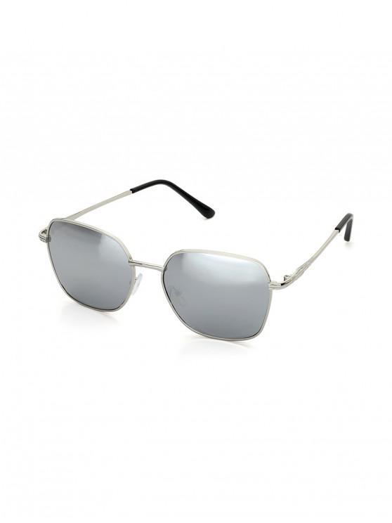 Gafas de Sol Cuadradas Marco Metálico - Gris