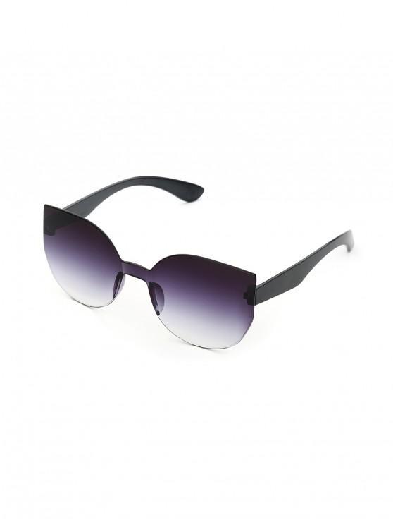 Gafas de Sol Reflejantes Marco Metálico - Gris Carbón
