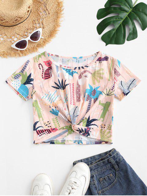 Camiseta Com Estampa Divertida - Multi-A L Mobile