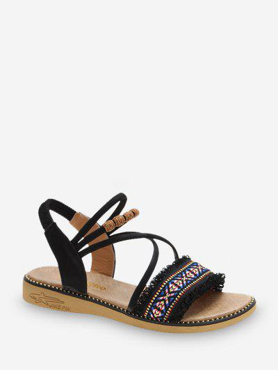 Ankle Strap Ethnic Sandals